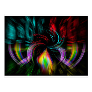 Abstractly in perfection Pop kind Postcard