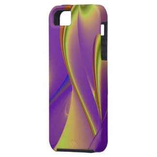 abstractly in yellow PUR-polarize iPhone SE/5/5s Case