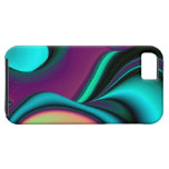 abstractly rainbow iPhone 5 cover