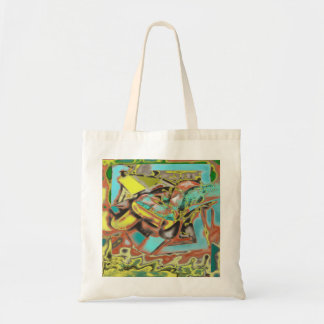 Abstractly Speaking Abstract Design Tote Bag
