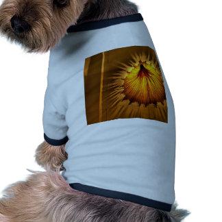 Abstracto refresque el vestido de la luz camiseta de perrito