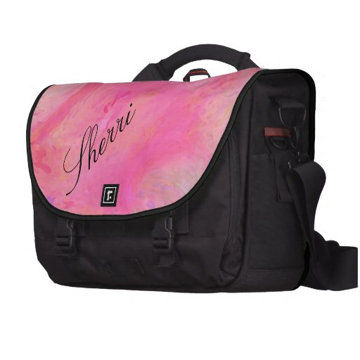 Abstracto rosado bonito/múltiplo del patio de los  bolsas de portatil