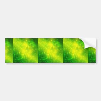 Abstracto-Verde-Luz-Bokeh-Fondo-Vector-Gráfico Pegatina De Parachoque