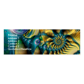 Abstractopus Mini Business Card