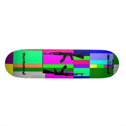 !AbstractRevolt? Skate Deck