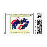 Abstracts by Michael Jr.#5 Postage Stamp