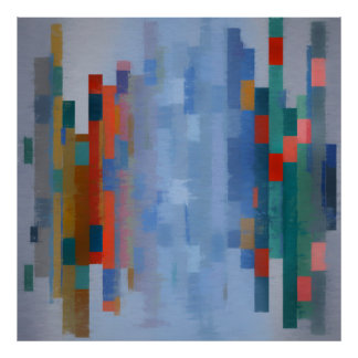 Abstracts composition 361 poster