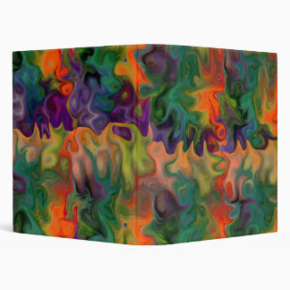 Abstracts For Visionaries 3 Ring Binder