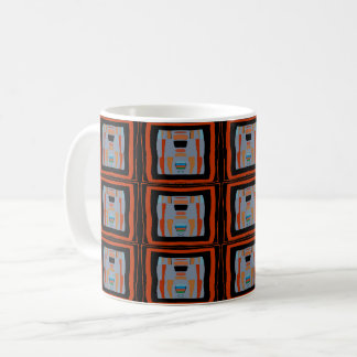 Abstracts in Black Square, Matisse style, Coffee Mug