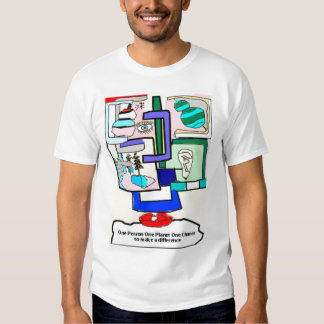 abstractshirtdesign, Support your local charities T Shirt