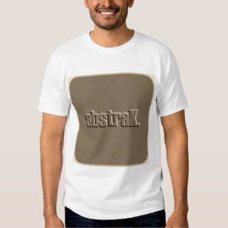 AbstraK Brown Logo T Shirt