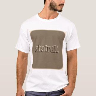 AbstraK Brown Logo T-Shirt