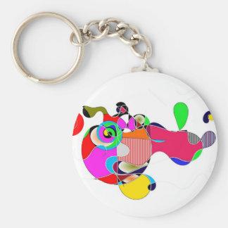 Abstrakt Keychain