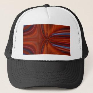 Abstrakt orange no. 2 designed by Tutti Trucker Hat