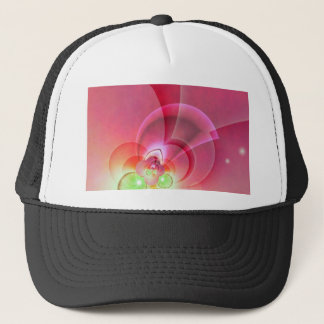 Abstrakt pink created by Tutti Trucker Hat