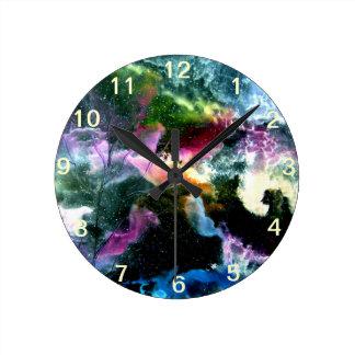 Abstrakt Round Clock