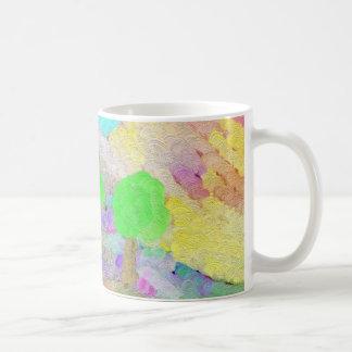 Abstrakt Trees Classic White Coffee Mug