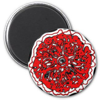 abstrakte Rosette rose abstract Magnet