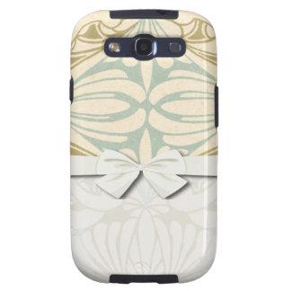 abstraktes Muster verzierter Kunst nouveau Art Galaxy S3 Case