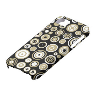 Abstraktes Retro Muster-nahtlose Kunst iPhone 5 Covers