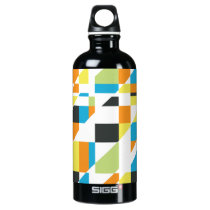 Abstraktion 002 aluminum water bottle