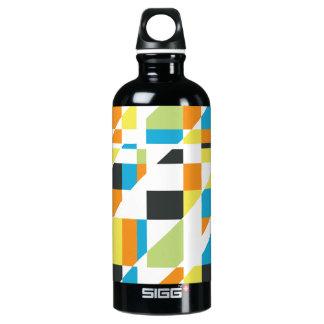 Abstraktion 002 aluminum water bottle