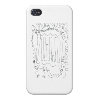 Abstraktion Imaginor Mens Bona iPhone 4/4S Covers
