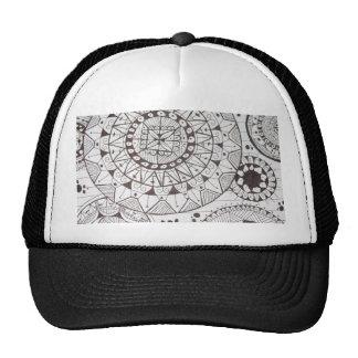 abstrato com formas geometricas trucker hat