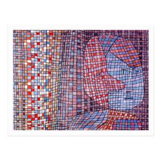 Abstruse by Paul Klee Postcard