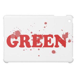 Absurd Green iPad Mini Cases