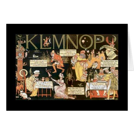 Absurd KLMNOP Cards