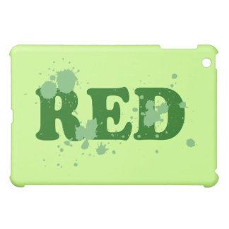 Absurd Red iPad Mini Case