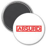 Absurd Stamp Magnet