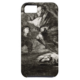Absurdity funeral by Francisco Goya iPhone SE/5/5s Case
