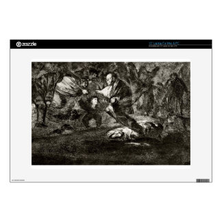 """Absurdity funeral by Francisco Goya Skin For 15"""" Laptop"""