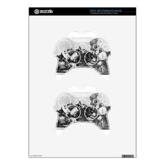 Absurdity of Carnival by Francisco Goya Xbox 360 Controller Decal