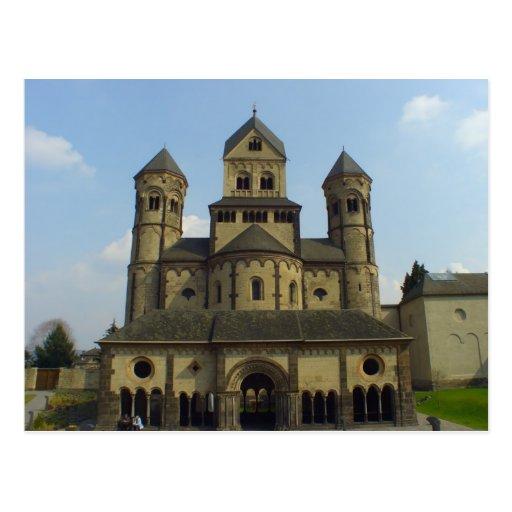 Abtei Maria Laach, Eifel, Germany Postcard