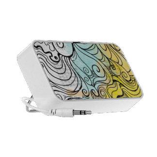 abtract wave 007-speaker mini speakers
