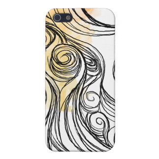 abtract wave iPhone 5 cover