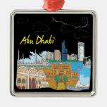 Abu Dhabi Adorno De Navidad