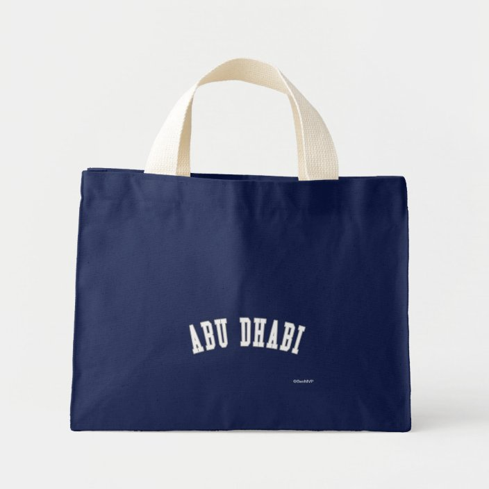 Abu Dhabi Canvas Bag