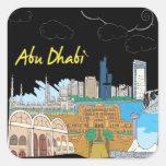 Abu Dhabi Colcomanias Cuadradas