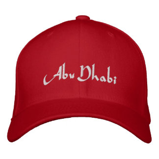 Abu Dhabi Embroidered Baseball Cap