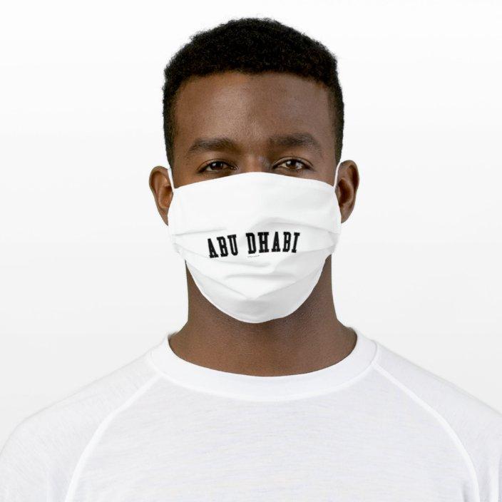 Abu Dhabi Face Mask