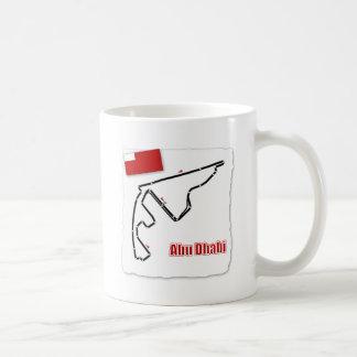Abu Dhabi GP Circuit Coffee Mug