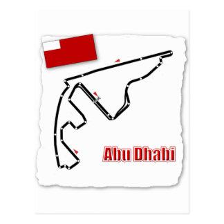 Abu Dhabi GP Circuit Postcard