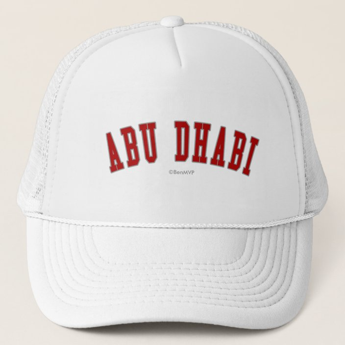 Abu Dhabi Hat