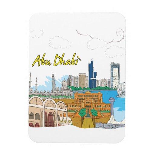 Abu Dhabi Imanes De Vinilo