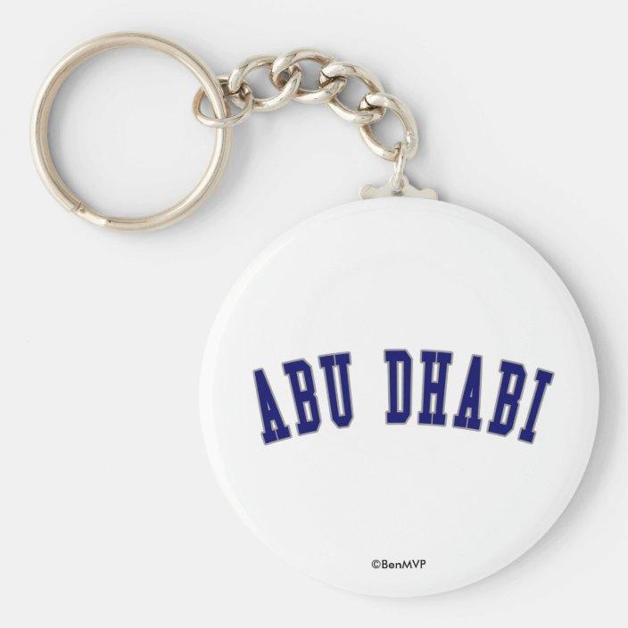 Abu Dhabi Key Chain