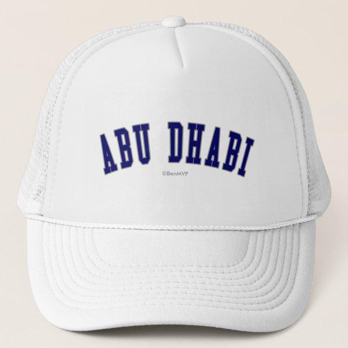 Abu Dhabi Mesh Hat